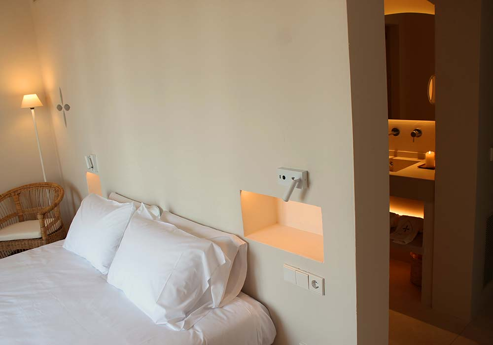 Cama Junior Suite Aucanada - Yartan Boutique Hotel