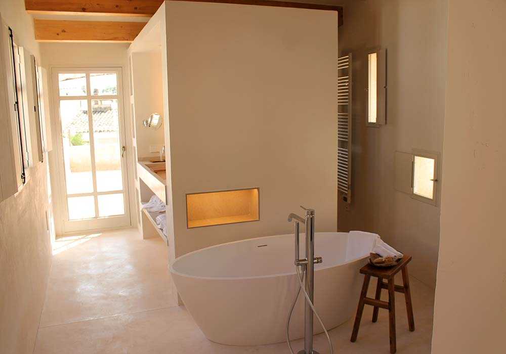 Bañera Junior Suite Formentera - Yartan Boutique Hotel