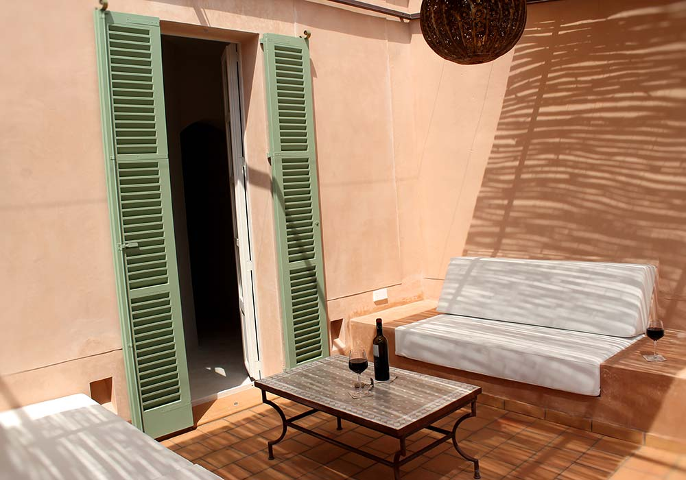 Terraza Junior Suite Ibiza - Yartan Boutique Hotel