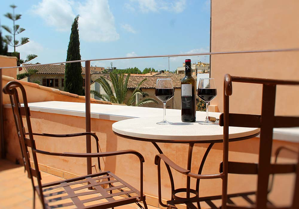 Terraza Junior Suite Menorca - Yartan Boutique Hotel